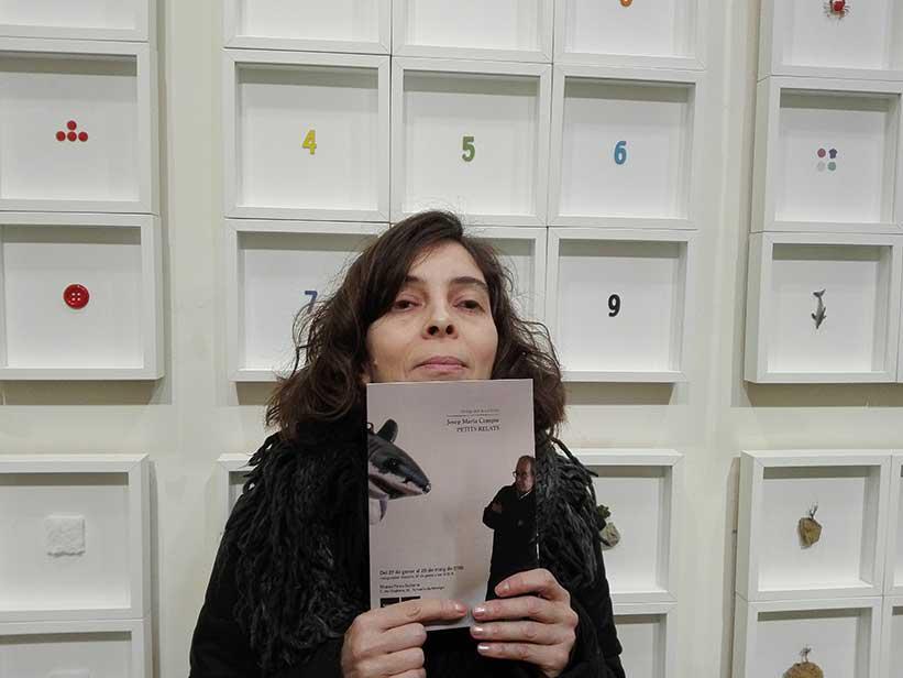 Catàleg de l'exposició Petits Relats de Josep Maria Compte