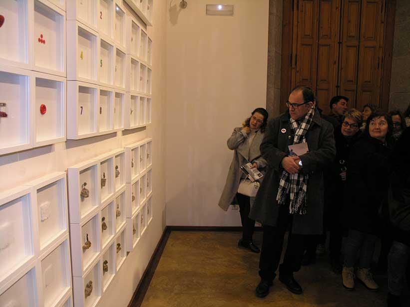 Inauguració de Petits Relats de Josep Maria Compte