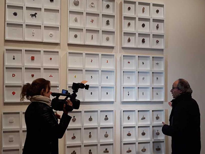 Petits Relats de Josep Maria Compte. Roda de premsa