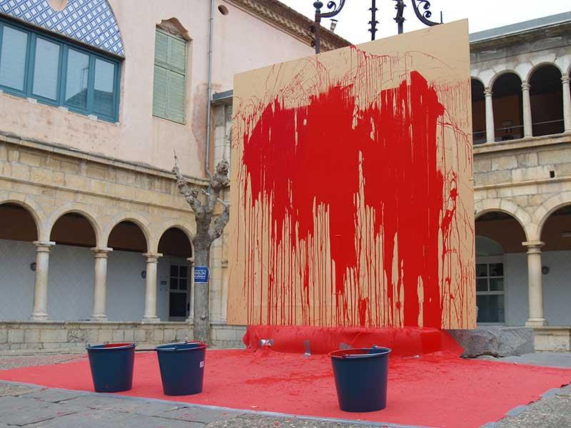 Acció Artística Dia Internacional de l'Art