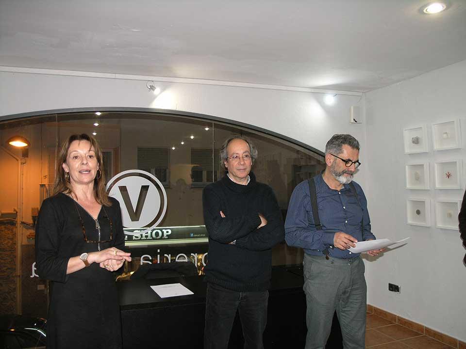 Presentació de Tresors i Relíquies a la llibreria Vitel·la