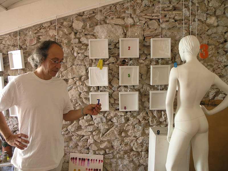 L'artista Plàstic Josep Maria Compte