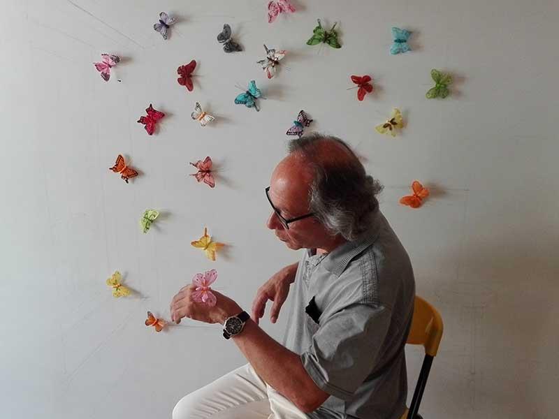 Acció amb papallones