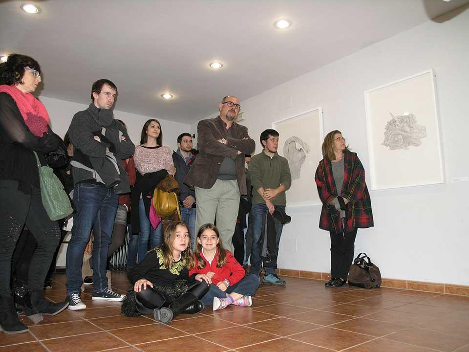 Presentació de l'exposició de Josep Maria Compte amb dibuixos
