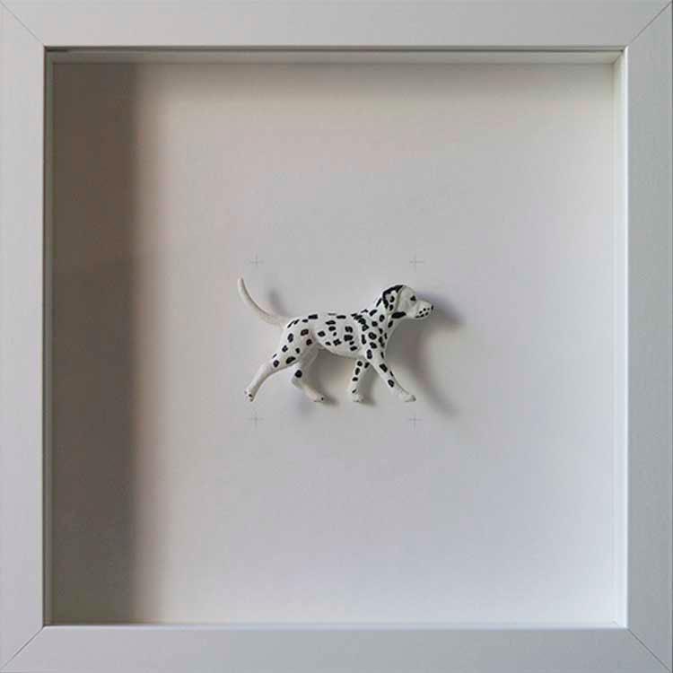 Artpiece: Colors & Animals I - B/W - Dalmata