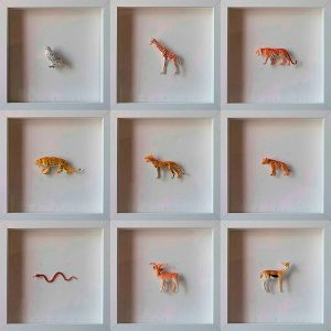 Collection Colors&Animals III. Spotted animals by Josep Maria Compte