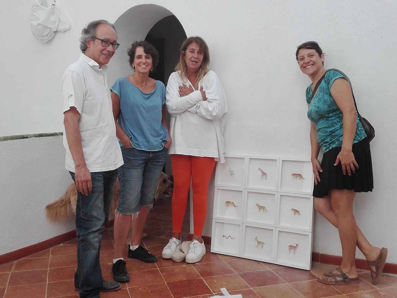 Amb una de les col·leccions de Colors & Animals de Josep Maria Compte