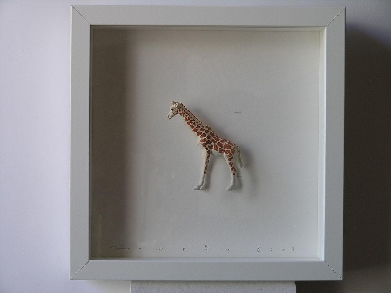"""Girafa a la col·lecció """"Animals amb Taques"""". Colors & Animals de Josep Maria Compte"""