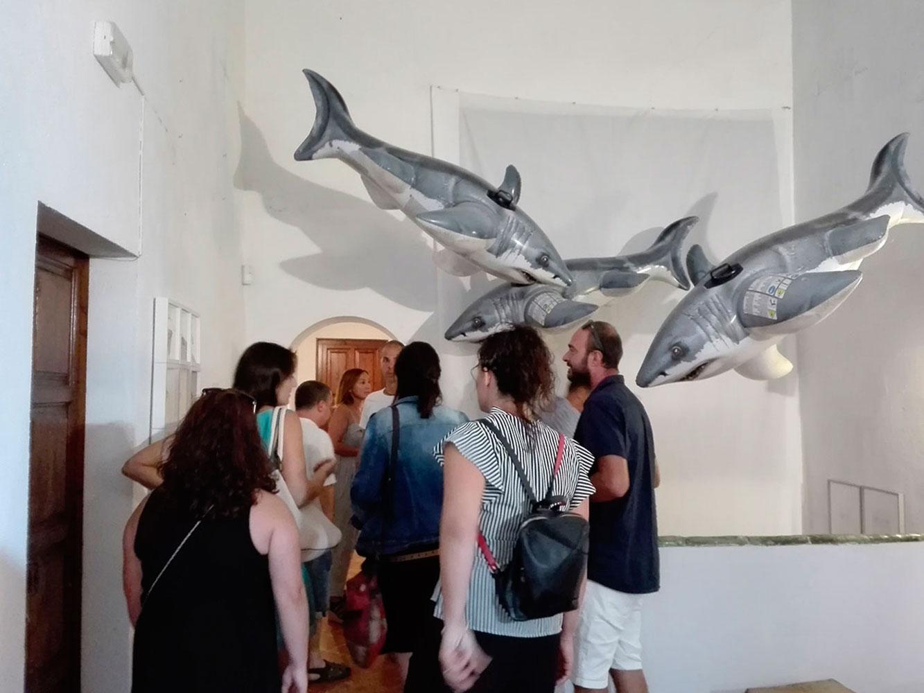 Públic visitant Colors & Animals de Consciències Naturals