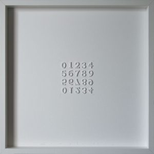 Artpiece: The 10 Numerical Digits by Compte