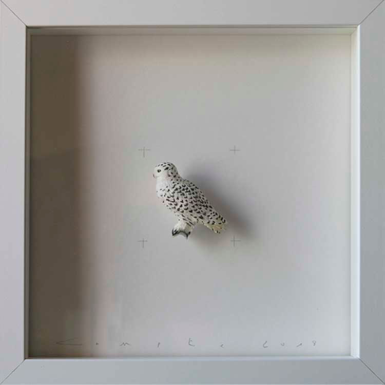 Artpiece: Colors & Animals III - Spotted - White eagle