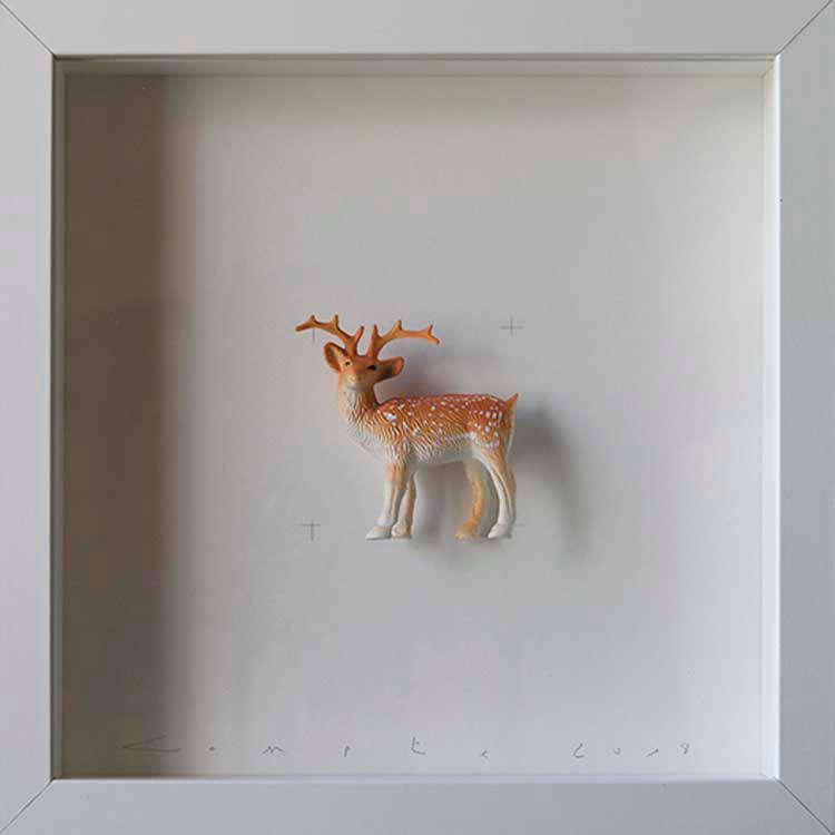 Artpiece: Colors & Animals III - Spotted - Doe Gamo