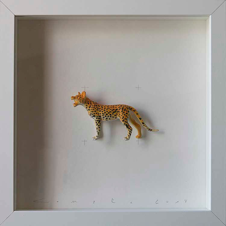 Artpiece: Colors & Animals III - Spotted - Cheetah