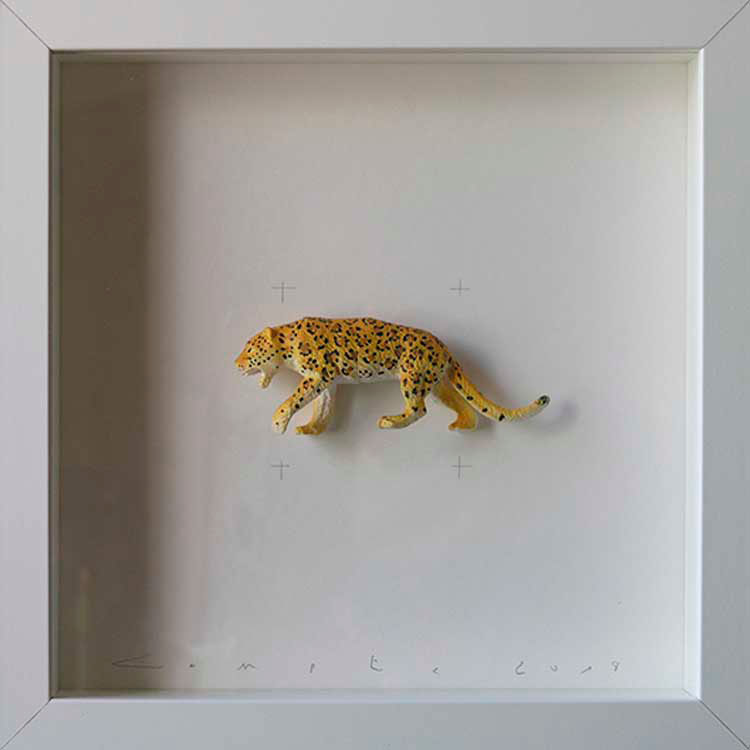 Artpiece: Colors & Animals III - Spotted - Jaguar