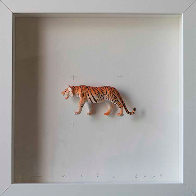 Artpiece: Colors & Animals III - Spotted - Tiger
