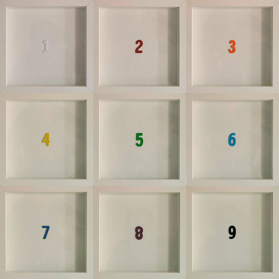 Collection Color of the numbers by Josep Maria Compte
