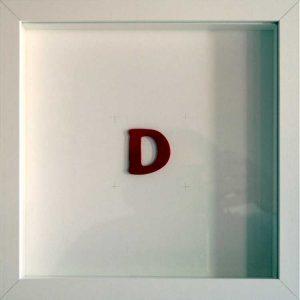 Artpiece: Desires - D letter