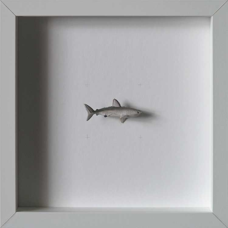 Artpiece: Homage to some artsists - Shark - Damien Hirst