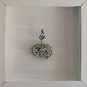 Artpiece: Universos I - landscape with poplar